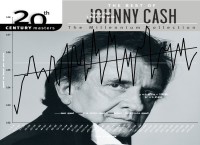 Johnny Cash I Walk The Line contemporary tempo map - album view